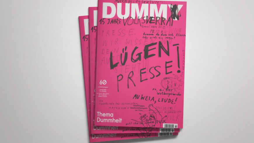 Beitrag im DUMMY Magazin